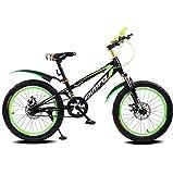 Great St. DGF Vélos pour Enfants VTT Hommes, Femmes et Enfants 16/18 Pouces 4-12 Ans étudiant vélo ( Color : C , Size : 18 inches )