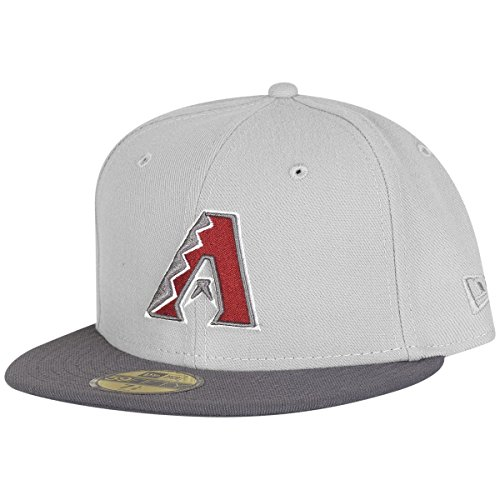 New Era 59Fifty Fitted Cap - MLB Arizona Diamondbacks grey