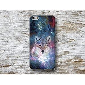 Wolf Galaxis Hülle Handyhülle für iPhone 4 4s 5 5se se 5C 5S 6 6s 7 Plus iPhone X 8 Plus iPod 5 6