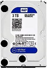 WD Blue 3TB Interne Festplatte (8,9 cm (3,5 Zoll)), SATA 6 Gb/s Bulk WD30EZRZ