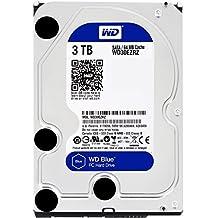 """WD Blue - Disco duro para ordenadores de sobremesa de 3 TB (5400 rpm, SATA a 6 Gb/s, 64 MB de caché, 3,5"""") azul"""