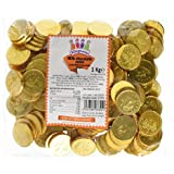Gold Milk Chocolate Coins 1kg