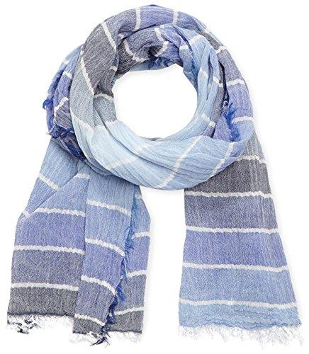 MLT Belts   Accessoires Paris Echarpe Mixte, Multicolore (blue 1010) Taille  unique ( 257c5fd3cdd