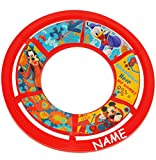 alles-meine.de GmbH 1 Stück _ Frisbee Scheibe - Wurfscheibe -  Disney Mickey Mouse  - incl. Name - Ø 26 cm - für Kinder / Erwachsene / Hunde - Kindergeburtstag - Schwebedeckel ..