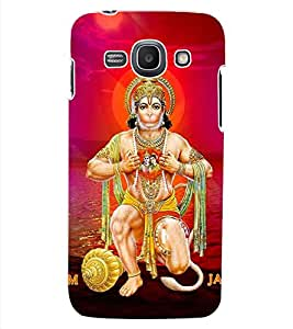 ColourCraft Lord Hanuman Design Back Case Cover for SAMSUNG GALAXY ACE 3 LTE S727