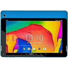 """Woxter N-200 - Tablet de 10.1"""" (Quad Core Cortex A64 1.34 GHz, memoria interna de 16 GB, 2 GB de RAM, Android 7.0) color azul"""