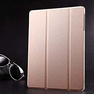 Etui de protection pour samsung galaxy tab 4 10.1 or 04F champagne clair