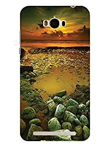 TREECASE Designer Printed soft silicone Back Case Cover For Asus Zenfone Max