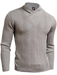 D&R Fashion - Sweat-shirt -  - Uni - Manches longues Homme Blanc Blanc moyen