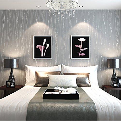 Bluelover-10M-no-tejido-Colth-Rollo-papel-pintado-slido-Color-Irregular-raya-franela-casa-decoracin-de-la-pared
