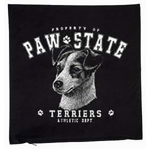 Housse de coussin Jack Russell Terrier (40cm x 40cm) couleur: noir