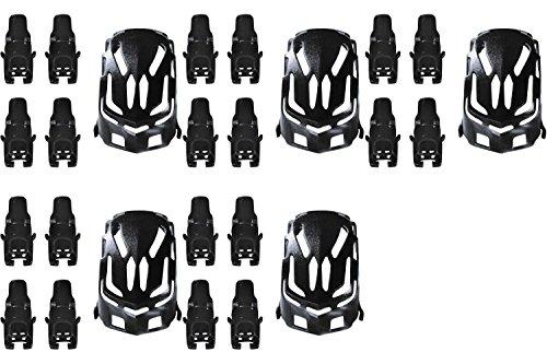 5-x-quantity-of-estes-proto-x-nano-body-shell-h111-01-black-quadcopter-frame-w-motor-supports-fast-f