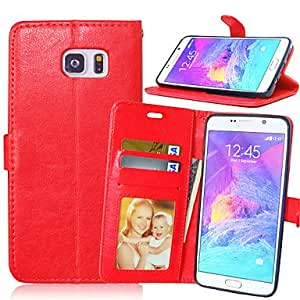 PU Leather Card Holder Wallet Stand Flip Cover With Photo Frame Case For Samsung Galaxy Note 4 #04651010