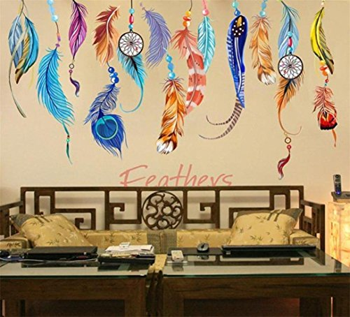 lnlyin-bedroom-wall-sticker-home-decor-sofa-decorative-background-wall-removable-color-feather-stick