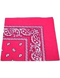 Robelli Bandana ou foulard pour homme femme à motif cachemire 100 % coton fd9998306c9