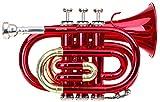 Classic Cantabile Brass Tt 400BB Pocket Trumpet (Brass, Bell 93mm Bore Diameter