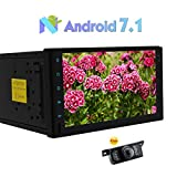 Universal-2 L?rm-Auto-Stereo-Multimedia-Player Android 7.1 Octa-Core-2GB + 32GB 7' con 1024 * 600 Unterst¨¹tzungs-GPS-Navigation SWC TelKonfig 3G / 4G WIFI Bluetooth OBD2 DAB + 1080P Video Cam-In