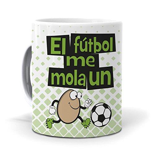 mundohuevo Taza El Fútbol me Mola un Huevo
