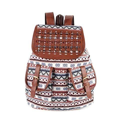 WMZX Rucksack Hohlgravur Mittelschüler Freizeittasche, personalisierter Rucksack, Bergwanderrucksack Daypack, Rucksack, Rucksack, Rucksack (Color : C, Size : 40 * 39 * 18CM)