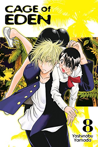 Cage of Eden 8 (Fly High-manga)