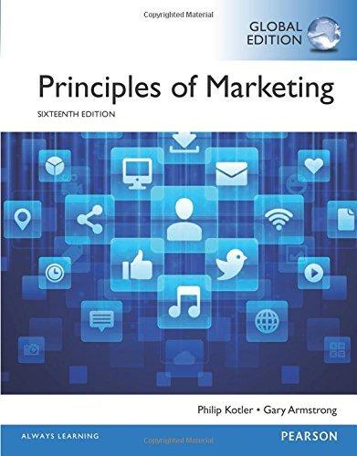 Principles of Marketing, Global Edition by KOTLER (2016-07-31)