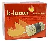 K-Lumet - Feueranzünder 16er - 1St