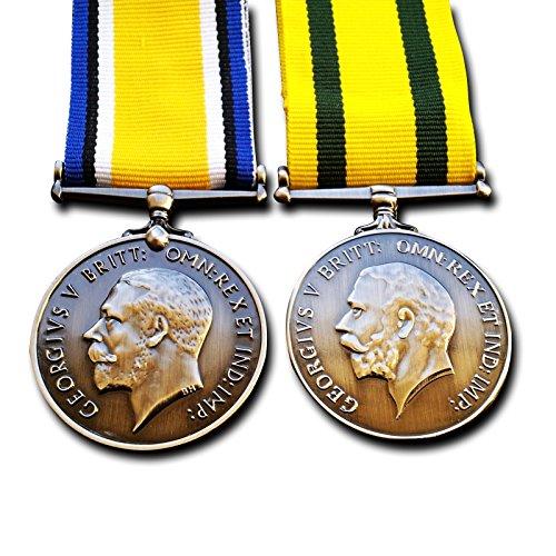 Militär Medaillen Britische Krieg Medaille & Territoriale Force Krieg Medaille-British Army ersten Weltkrieges British Copy (Medaillen Krieg)