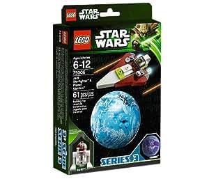 LEGO Star Wars - 75006 - Jeu de Construction - Jedi Starfighter & Kamino