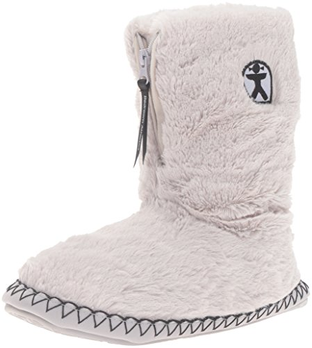 bedroom-athletics-marilyn-classic-faux-fur-trace-grey-slipper-boots-medium
