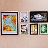PHOTOZXM GRJH® Foto Wand, Massivholz Bilderrahmen Wand Kreativität Kombination Wandbehang Kreativer Europäer (Farbe : #2)