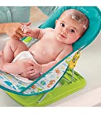Best Baby Tubs For Newborns - Babies Bloom Baby Bather for New-Born, Green/Blue Review