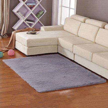 L&Y tapis baie vitrée tapis d'eau épaissie Silky moderne et minimaliste de chevet table basse de salon de chambre Non-Slip Mat