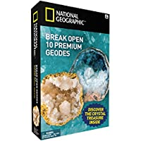 National Geographic Break Open 10 Geodes – TOP QUALITY!