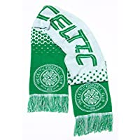 a43cd34a3d3 Celtic FC Football Team Fade Knitted Supporters Scarf
