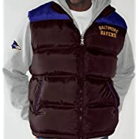 """Baltimore Ravens NFL """"Astroturf"""" Systems 3-in-1 Heavyweight Vest Jacket"""