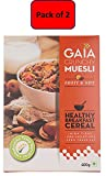 #3: Gaia Crunchy Muesli - Fruit And Nut, 400g (Pack of 2)