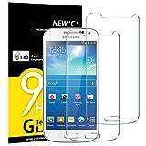 NEW'C Verre Trempé pour Samsung Galaxy S4 Mini,[Pack de 2] Film Protection écran -...