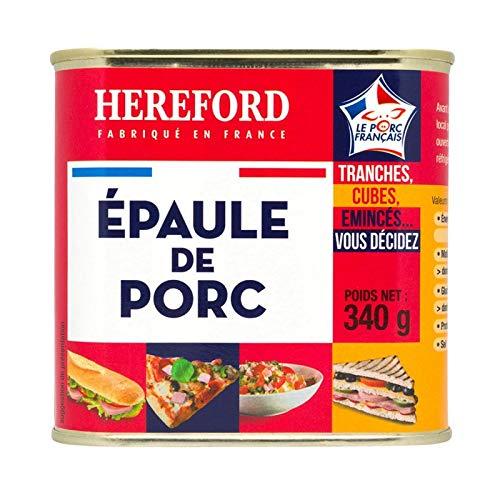 Hereford - Schweineschulter 340G - Épaule De Porc 340G - Preis Pro Einheit - Schnelle Lieferung