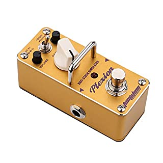ammoon AROMA APN-3 Plexion Brit-stack Simulator Electric Guitar Effect Pedal Mini Single Effect with True Bypass