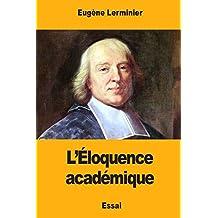 L'Éloquence académique