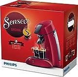 Philips Pack Senseo originelle 1–2Tassen hd7817/94rot + Kaffeepads gratis