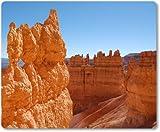 Mauspad / Mouse Pad aus Textil mit Rückseite aus Kautschuk rutschfest für alle Maustypen Motiv: USA Amerika Bryce Canyon [ 05 ]