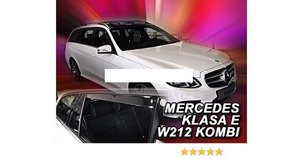 Zentimex Z769749 Windabweiser Regenabweiser Acrylglas Dunkelgrau Für Vorne Und Hinten Auto