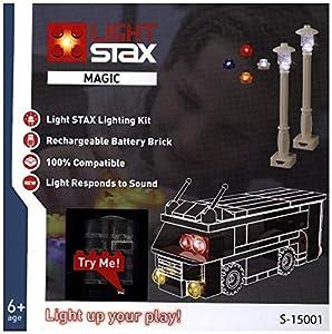 Light STAX S de 15001Juego, Compatible con Lego, Especialmente concebida para existente Diseño de Piedra Colecciones gezielt con luz equipar