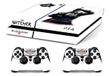 Skin PS4 HD THE WITCHER 3 c - limited edition DECAL COVER Schutzhüllen Faceplates playstation 4 SONY BUNDLE
