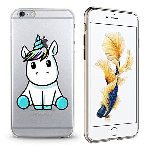 Panelize iPhone 6 Plus Einhorn Hülle Schutzhülle Handyhülle Softcase Cover Silikon Rutschfest Durchsichtig Klar (Baby) Baby