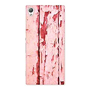 Special Ripped Wood Print Back Case Cover for Sony Xperia Z3
