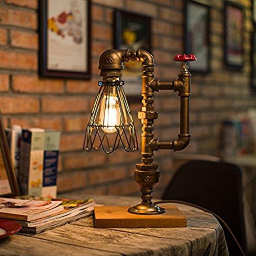 Messing Banker Lampe (Traditionelle Bankers Lampe, Antik-Stil Smaragdgrün Glas Schreibtisch Leuchte, Satin Messing Finish, Metall Perlen Pull Cord Switch)