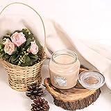 Zenlife Fragranced 13 Oz Glass Jar Candles (Sandalwood)