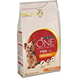 Purina ONE MINI Perro Senior Pollo y Arroz 6 x 800 g